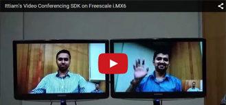 Ittiam's Video Conferencing SDK on Freescale i.MX6